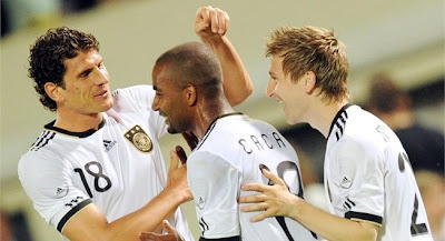 Alemania vencio a Hungria