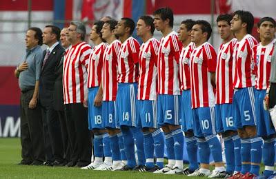 Paraguay vencio a Grecia