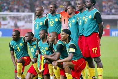 Lista oficial de jugadores de Camerun
