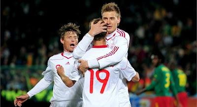 Dinamarca vencio a Camerun
