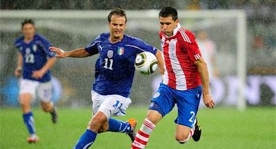 Paraguay empata con Italia
