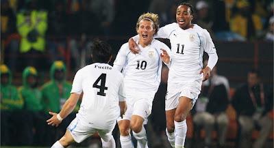 Uruguay vencio a Sudafrica