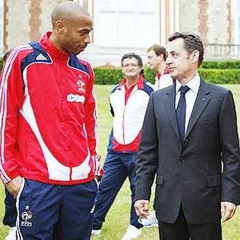 Henry se reune con Sarkozy
