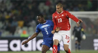 Suiza empata con Honduras
