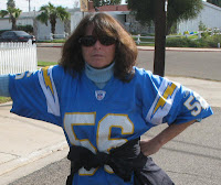 Don't mess with me-I'm a Lights Out San Diego Chargers Fan
