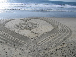 Sand Art and Photo by Kirk Van Allyn