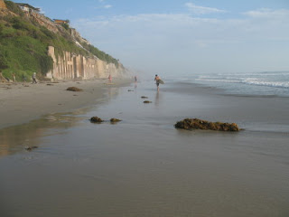 Labor Day in Leucadia with wide-open stretches of beach