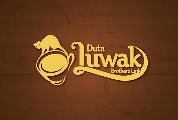 Desain Logo Duta Luwak Brother's Link