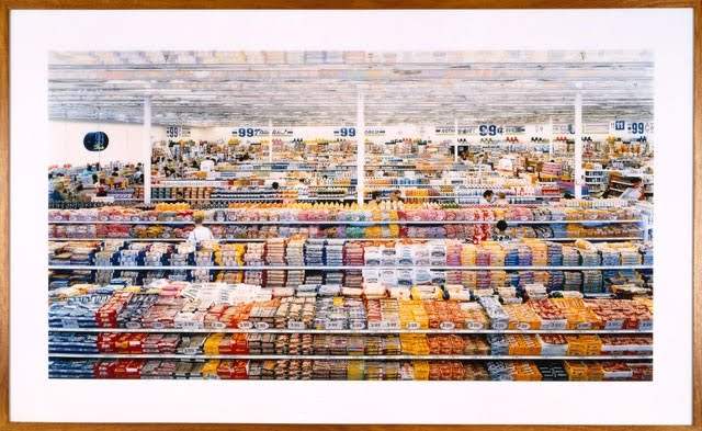 charmed life 99 cent store by andreas gursky. Black Bedroom Furniture Sets. Home Design Ideas