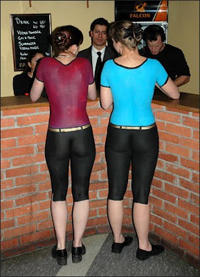 Sexy-Body-Paint-Waitresses-3