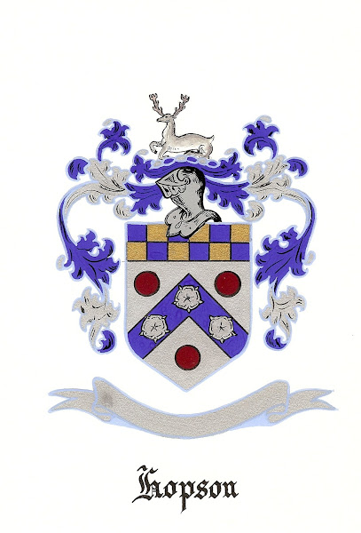Hopson coat of arms