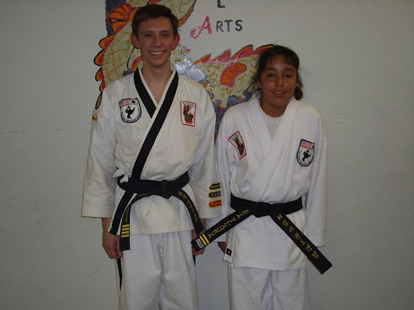 Newest 2nd Degree Blackbelt