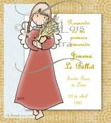Estampas primera comunion - first Holy communion cards 13