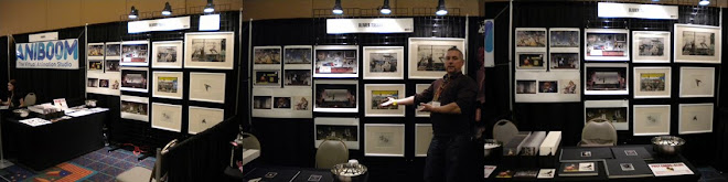 My booth at the CTX Animation Expo: