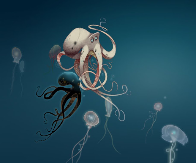 OCTOPUS ( Traditional / Photoshop ) :