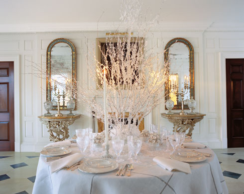 for an elegant new year s eve dinner roehm created a table setting ...