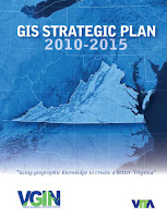 Virginia GIS Strategic Plan Cover