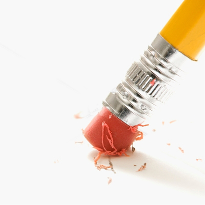 Как сделать чтобы карандаш не стирался