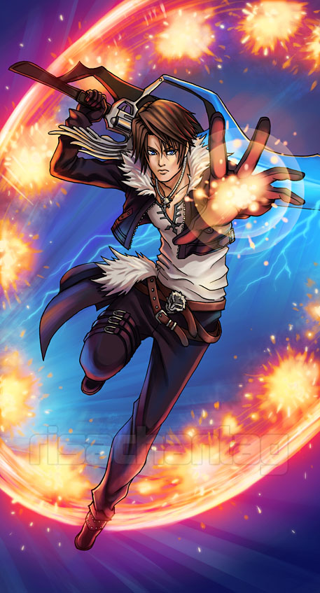 Middlejapan 0: Perfil: Squall Leonheart (Final Fantasy 8) Final Fantasy Rinoa And Squall