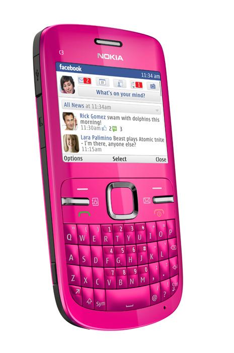 Ketulusan hati: Nokia C3
