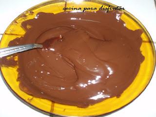 receta BOMBONES DE CHOCOLATE
