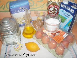receta BUÑUELOS DE CUARESMA