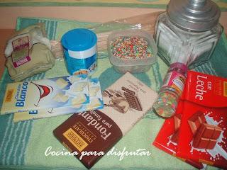 receta PIRULETAS DE CHOCOLATE