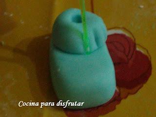 CUPCAKES DE VAINILLA DECORACIÓN BEBES