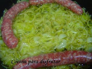 POLLO CON BUTIFARRA AL CAVA