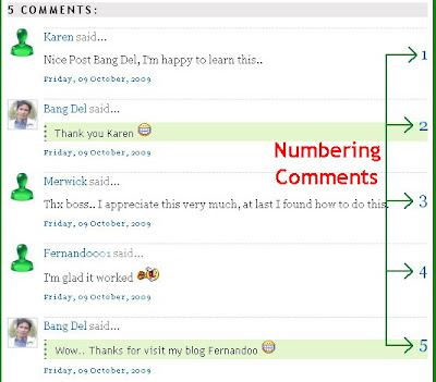 numbering-comment