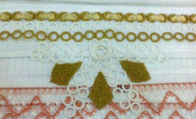 halkalı havlu kenarı dantelleri