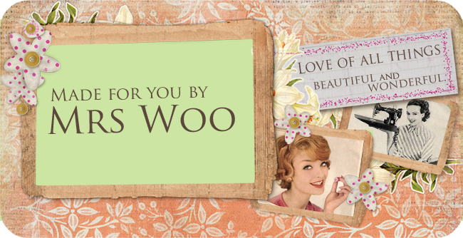 Made For You By Mrs Woo