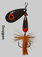 Abu droppen er en spinner som egner seg perfekt til ørretfiske