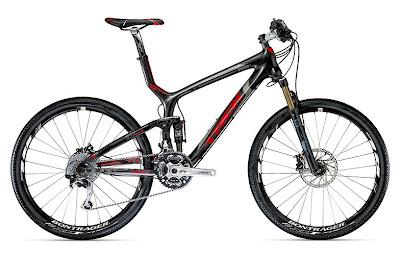 Flott sykkel for sykling i terrenget