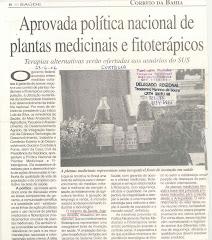 PORTARIA 971, MEDICINA NATURAL NOSUS