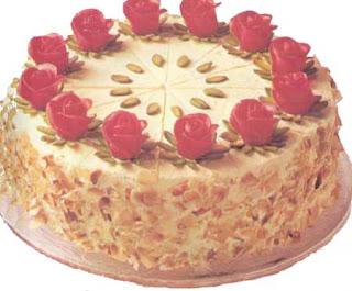 Ромово-миндальный торт