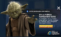 Yoda venent IE8