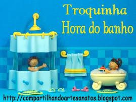 Troquinha Hora do Banho no Blog da Patricia!