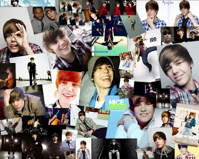 justin bieber collage wallpaper. 2010 i love justin bieber