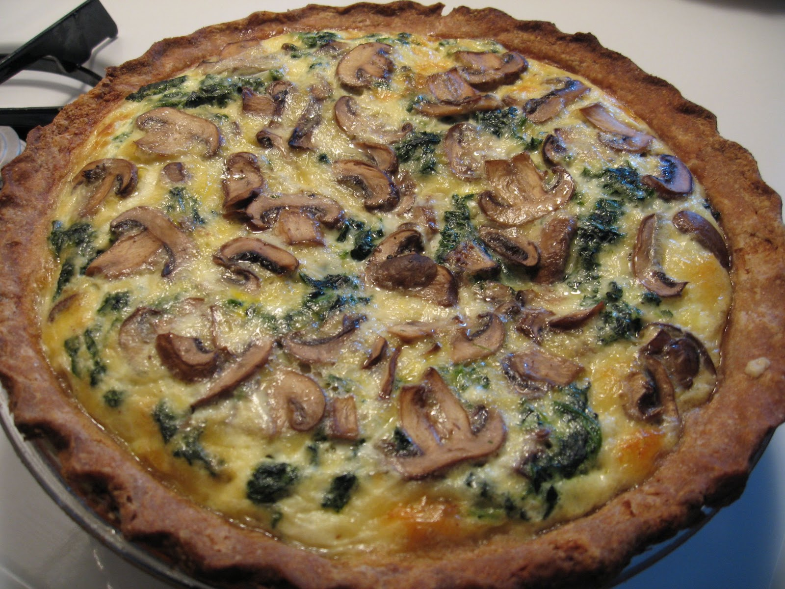 Spinach Muenster Quiche Recipes — Dishmaps