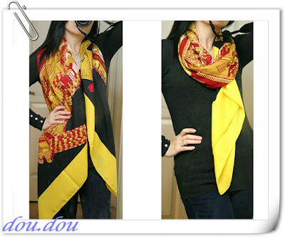 How to Wear an Hermes Scarf  How To Wear Silk Scarves Hermes