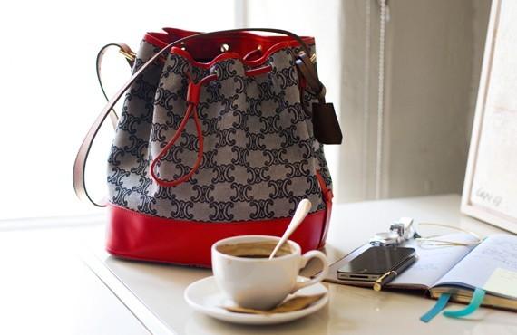 celine mini luggage replica - celine vintage monogrammed bag