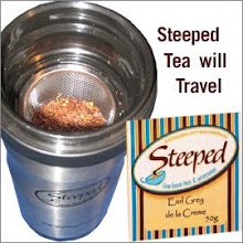 STEEPED TEA IN THE NEWS
