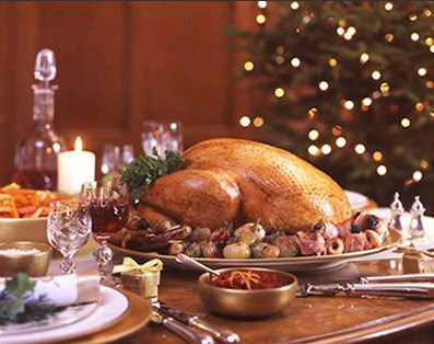 food lorists: traditional turkey and ham