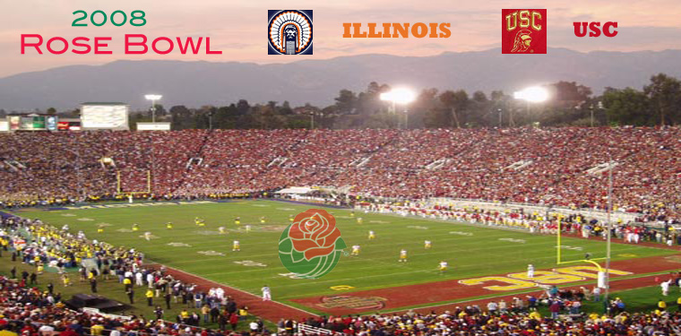 2008 Rose Bowl [ pre-game ]