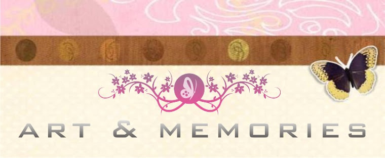 ART& MEMORIES SCRAPBOOK