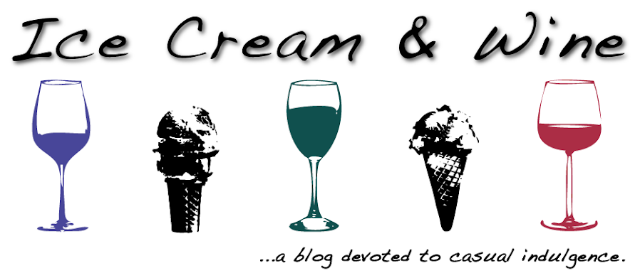 ICE CREAM &amp; WINE