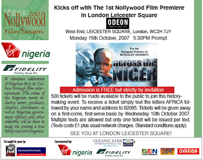 ACROSS THE NIGERIA PREMIERE