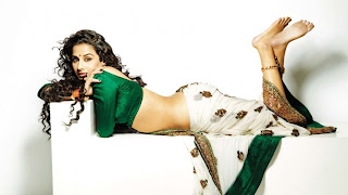 Vidya Balan Hot In Saree For FHM