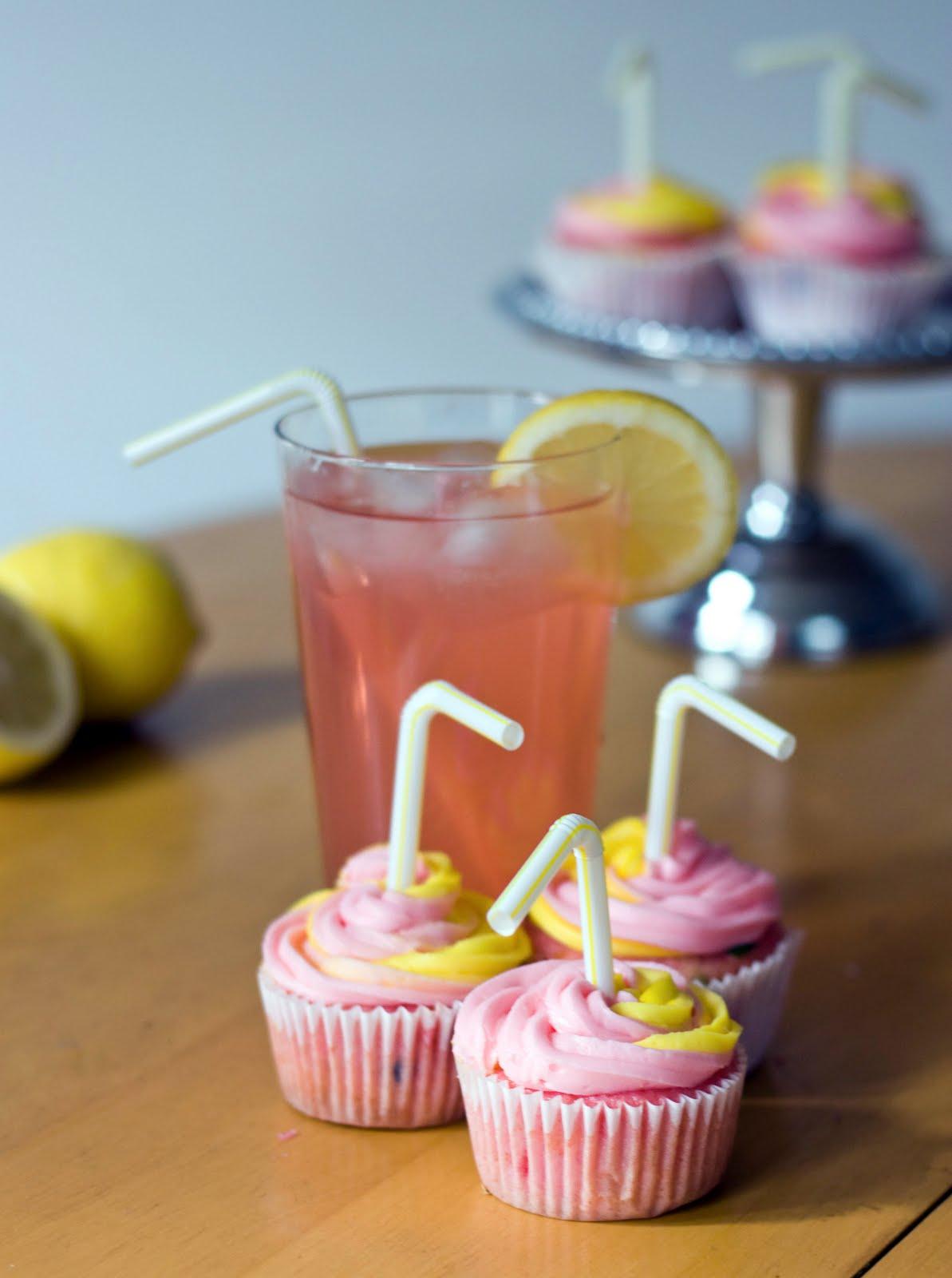 Pink Lemonade CupcakesLemonade Cupcakes